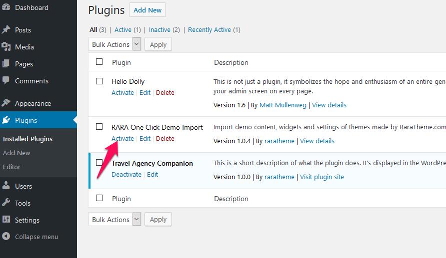 activate-the-WordPress-plugin