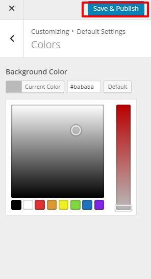Colors for preschool and kindergarten