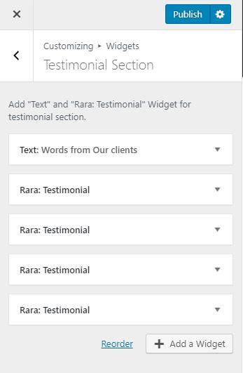 Testimonial Section influencer pro