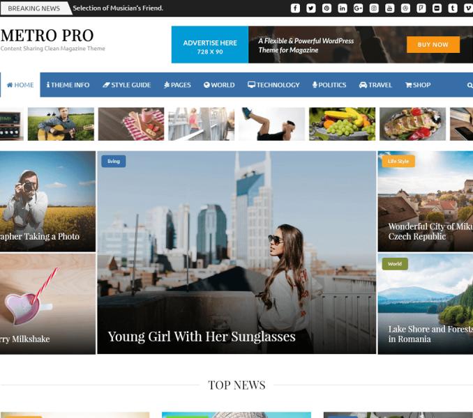 Metro Magazine Pro