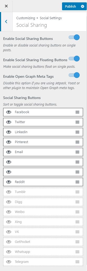 social sharing metro magazine pro